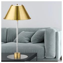 etc-shop Tischleuchte, Goldene Tischlampe Metall Tischlampe gold LED Lampe Nachttisch Schlafzimmer, Schirm schwenkbar, 1x 4W 400lm 3000K, DxH 22x41 cm