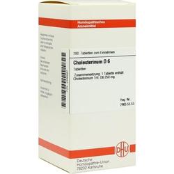 CHOLESTERINUM D 6