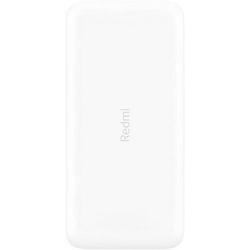 Xiaomi Xiaomi Redmi Powerbank 10000mAh, mit 4 Output USB Schnellladung Max 4A, Akkupack für Handy, Tablet, Smartphone in weiß Powerbank
