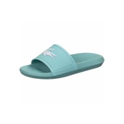 Lacoste Croco Slide 120 W Badeschuh blau 40,5