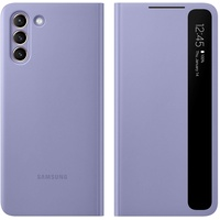 Samsung Clear View Cover für G996B Samsung Galaxy S21+ Plus, Clearview Violet