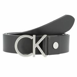 Calvin Klein CK Logo Gürtel Leder black 85 cm