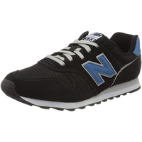 NEW BALANCE Men's 373 black-blue/ white, 44.5