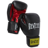 BENLEE Rocky Marciano Boxhandschuhe Rodney schwarz/rot 12 oz