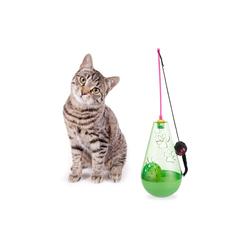 relaxdays Tier-Beschäftigungsspielzeug Katzenspielzeug 3 in 1, PP