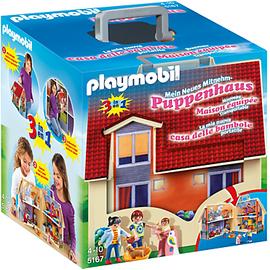 Playmobil Dollhouse Neues Mitnehm-Puppenhaus 5167