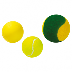 Tennisbälle - Soft-Tennisball, 60 g - Ø 90 mm