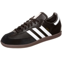 adidas Samba Leather black-white/ gum, 45.5