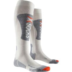 X-Socks - Ski Cashmere Weiß/Grau - Skisocken - Größe: 45-47