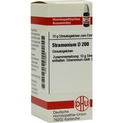 STRAMONIUM D 200 Globuli 10 g