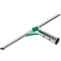 UNGER UniTec™ Wischer, Stabile Edelstahlschiene mit Griff, Breite: 45 cm