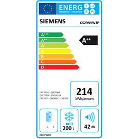Siemens GS29NVW3P iQ300