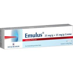 EMULUS 25 mg/g + 25 mg/g Creme 30 g