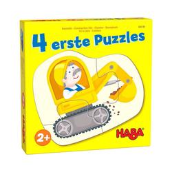 Haba Puzzle 4 erste Puzzles – Baustelle, Puzzleteile
