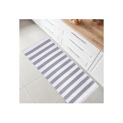 Teppich Kelim, Fashion Home, Läufer, Flur Teppich, Teppich Läufer, Boho Kelim Teppich grau Läufer - 60 cm x 180 cm