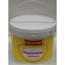 Wiegand Mayonnaise mit 80% Pflanzenöl 8L