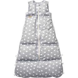 ARO® ARTLÄNDER Babyschlafsack Winter-Schlafsack Daunen Silber Flocken, 80 cm grau