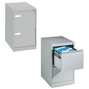 CP C 2000 Acurado Hängeregistraturschrank silber/silber 2 Schubladen