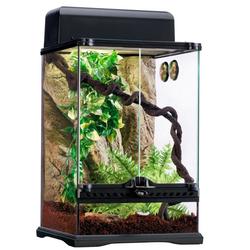 Terrarium-Set Rainforest schwarz