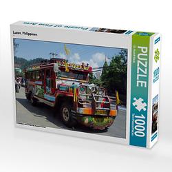 Luzon, Philippinen Lege-Größe 64 x 48 cm Foto-Puzzle Bild von Rudolf Blank Puzzle