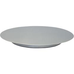 SCHNEIDER Tortenplatte, Edelstahl, Kuchenplatte aus Edelstahl, Durchmesser: 300 mm