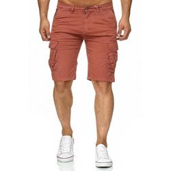 Max Men Cargoshorts 2339 Herren Cargo Shorts CHANNING rot 29W