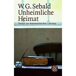 Unheimliche Heimat. W. G. Sebald  - Buch