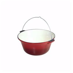 acerto® Feuertopf 10,8 Liter ungarischer Gulaschkessel Gußeisen