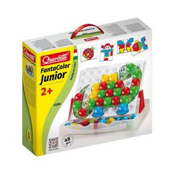 Quercetti Steckspielzeug Quercetti Fanta Color Junior, 48-tlg.