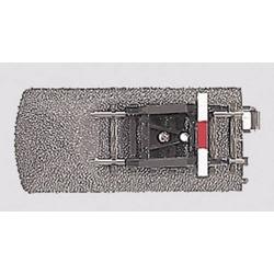 Märklin H0 C-Gleis (mit Bettung) 24977 Gleisende mit Prellbock 77.5mm