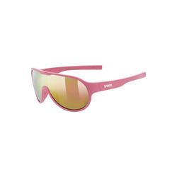 Uvex Sonnenbrille Sonnenbrille sportstyle 512 orange mat/mir.green rosa