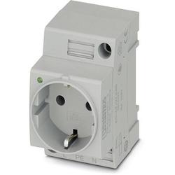 Phoenix Contact Schaltschrank-Steckdose EO-CF/UT/LED Grau 1St.