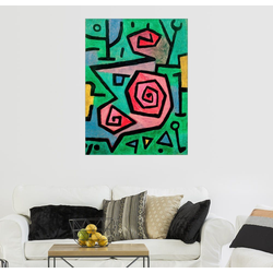 Posterlounge Wandbild, Heldenmutige Rosen 70 cm x 90 cm
