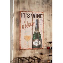 HomeLiving Bild Wine, Motiv siehe Bild/Beschreibung