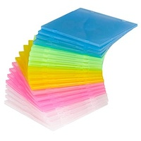 MediaRange CD-Soft-Slimcase color 20er-Pack