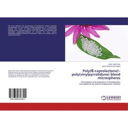 Poly('-caprolactone)-poly(vinylpyrrolidone) blend microspheres als Buch von Ikram ullah Khan/ Nazar Muhammad Ranjha