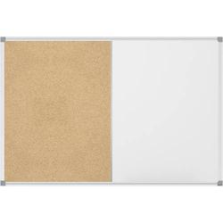 Maul Whiteboard, Pinnwand Combiboard MAULstandard (B x H) 60cm x 45cm Weiß kunststoffbeschichtet Qu