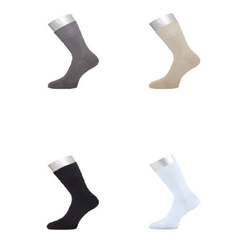 ichwillgartenmoebel.de 6 Paar Socken - weiche & verstärkte Strümpfe aus Bambus 38 - 41 weiß