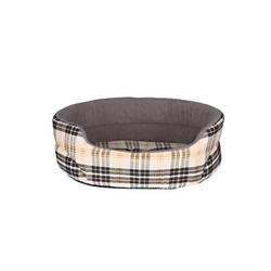 TRIXIE Bett Lucky für Hund 55×45 cm beige/grau