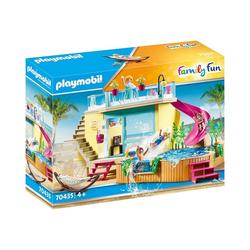 Playmobil® Spielfigur PLAYMOBIL® 70435 Bungalow mit Pool