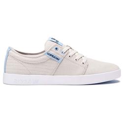 Schuhe SUPRA - Stacks Ii Bone Stitch-White (088)