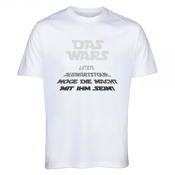 "T-Shirt Junggesellenabschied ""DAS WARS - Begleiter"""