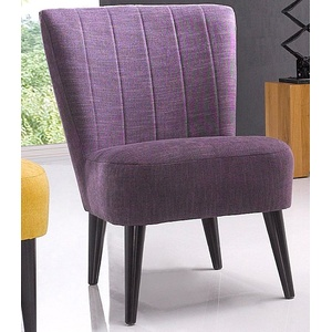 ATLANTIC home collection Cocktailsessel lila
