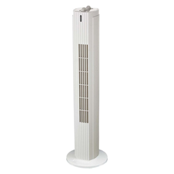 Heller Turmventilator FD 80 CD Tower-Ventilator weiß