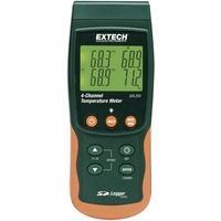 Extech SDL200 Temperatur-Messgerät -199 bis +1700°C Fühler-Typ K, J, T, E, R, S, Pt100 Datenlogge
