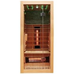 Dewello Infrarotkabine Milton Vollspektrum, BxTxH: 90 x 90 x 190 cm, 50 mm, für 1 Person