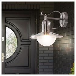 etc-shop LED Laterne, LED 6 Watt Gartenleuchte Gartenlampe Außen Lampe Außenleuchte Hofleuchte Terrassenleuchte