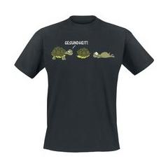 Gesundheit!  T-Shirt schwarz
