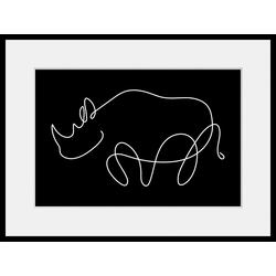 queence Bild Sylvester, (1 Stück) 50 cm x 40 cm