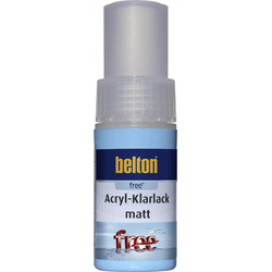 belton free Klarlack Lackstift 9 ml, farblos, matt